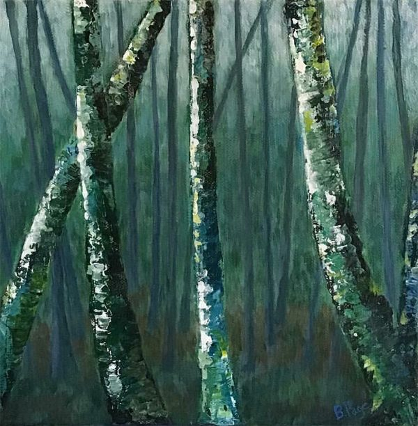 Seeking the Forest by Barbara Page, East Hants Nova Scotia Artist